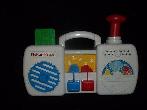 Fisher Price #1161 Musical Boom Box (1991)