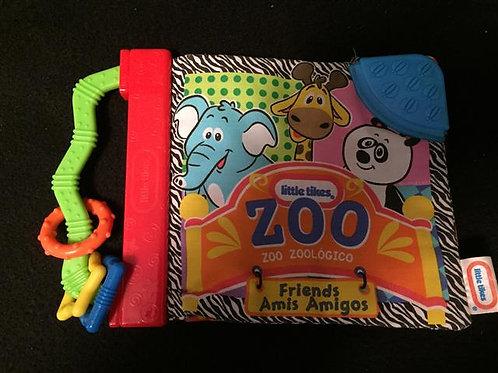 Little Tikes Crinkle Book Crinkle Book, Zoo Friend