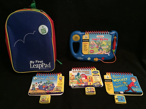 LeapPad My first LeapPad system storage bag Lot