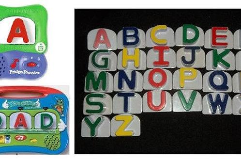 Replacement Alphabet Blocks Leapfrog Letters U-Z