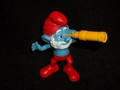 Papa Smurf figure
