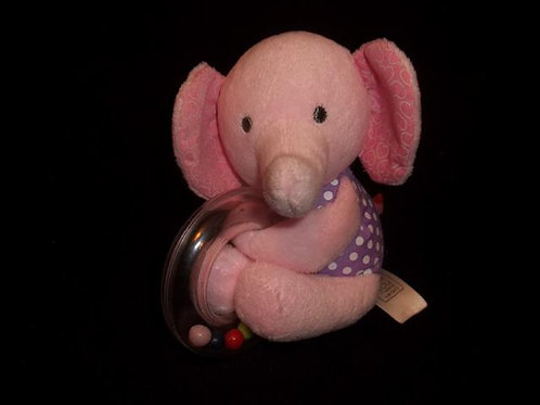 Carter's Just One You Pink Plush Elephant Ring