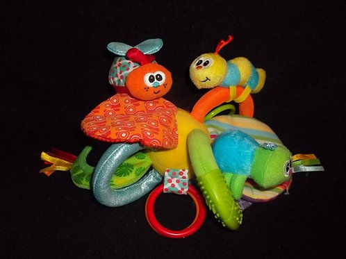 Infantino take along Activity toy - Bugs