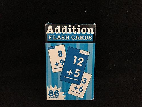 Addition Flash Cards - Blue Box