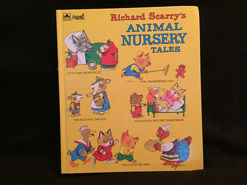 Richard Scarry's Animal Nursery Tales Hardcover