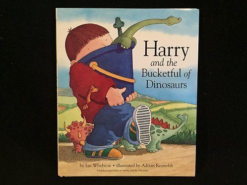Harry and the Bucketful of Dinosaurs-hardcover