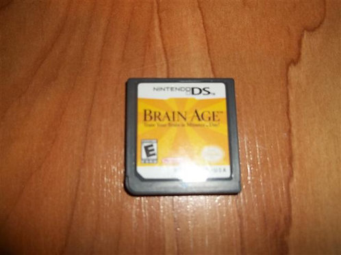 Train Your Brain in Minutes a Day NINTENDO DS