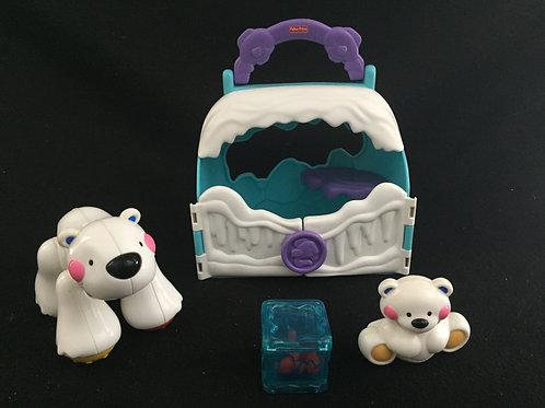 Fisher-Price Amazing Animals Polar Friends-Bear
