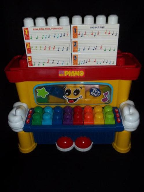 Mega Bloks MR. PIANO Teaching
