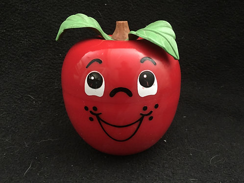 Fisher Price Happy Apple Musical Chime Toy*Vintage
