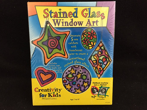 Creativity for Kids Stained Glass Window Art *NEW