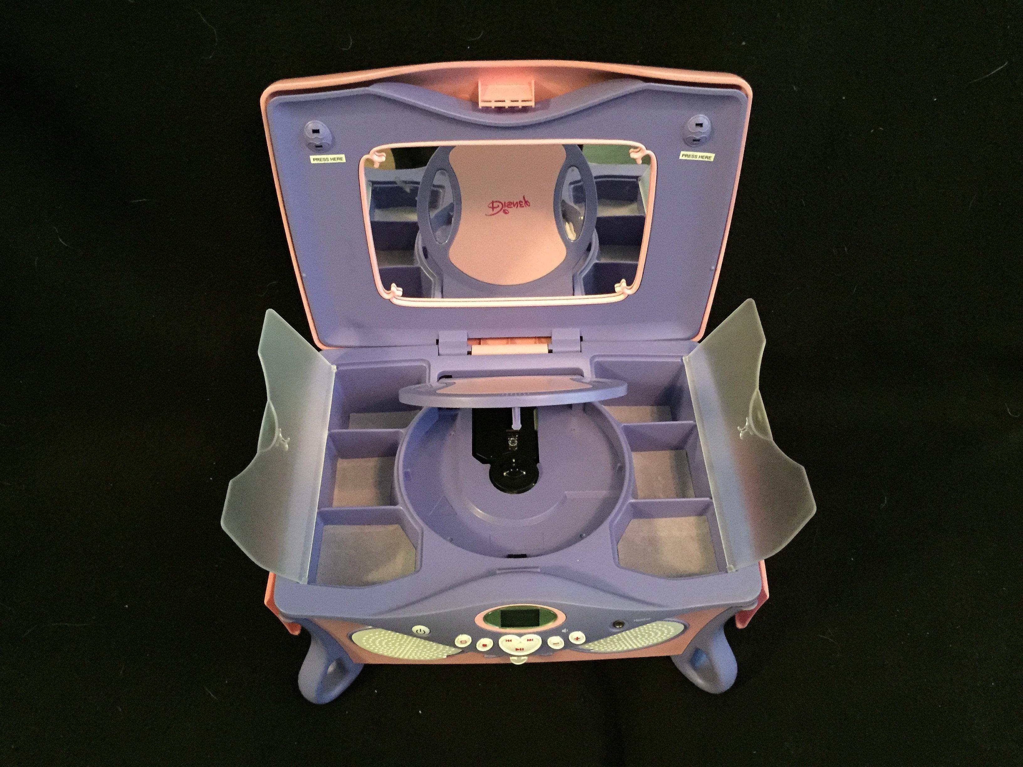 kidsheaveninlisle Disney Princess CD Player and Jewelry Box
