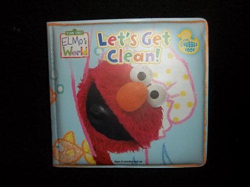 Sesame Street Bubble Books Let's Get Clean