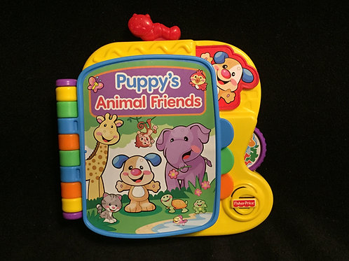 Fisher-Price Laugh & Learn Puppy's Animal Friends Book