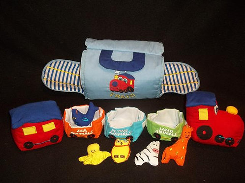 Train Set Soft Travel Plush/fabric