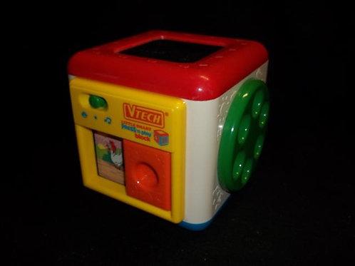 Vtech Little Smart Press N Play Block