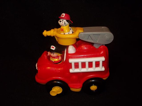 Fisher-Price Little People Lil Mover Fire Truck