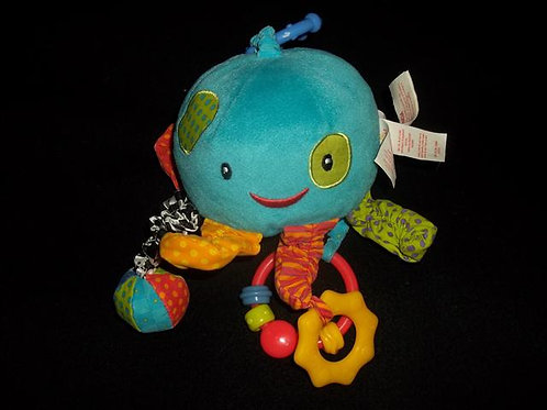 Bright Starts Octopus Teether/Hanging Take along t