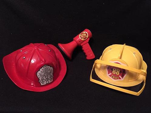 Heavy Duty plastic Fire Chief set