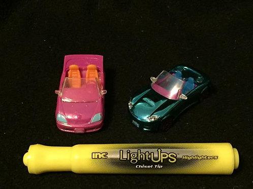 Polly Pocket Mini Mall Cars