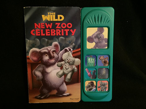 The Wild New Zoo Celebrity Little Sound Book