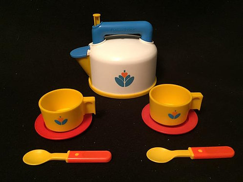 Fisher-Price Whistling Tea Kettle Set 1987