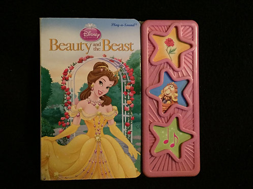 Beauty and the Beast Play a sound Board book