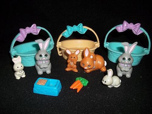 """Littlest Pet Shop """"Snuggle Bunnies 1993"""