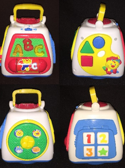 Fisher Price Baby Smartronics Turn & Learn Block
