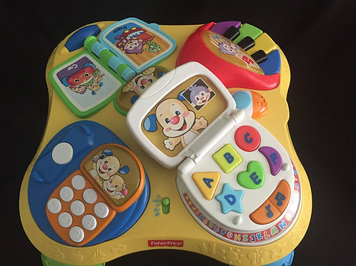 $20.00 Fisher-Price Laugh & Learn Puppy & Friends Learning Table II