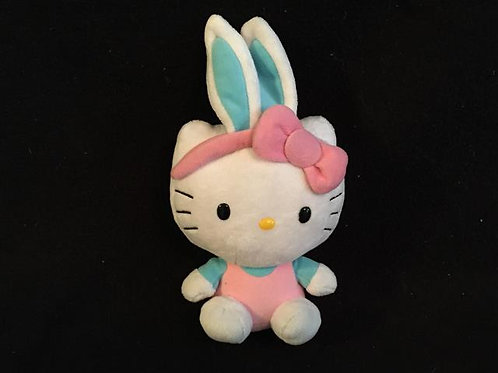 Hello Kitty (Easter, blue/turquoise bunny ears)