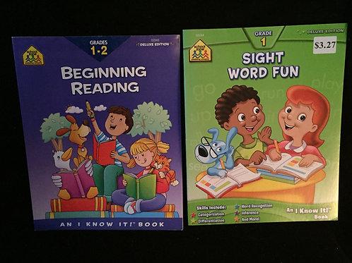 Workbook Set D *New-unused books