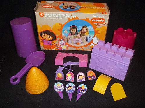 Let's Create Nickelodeon Dora Sand Castle Mold Set
