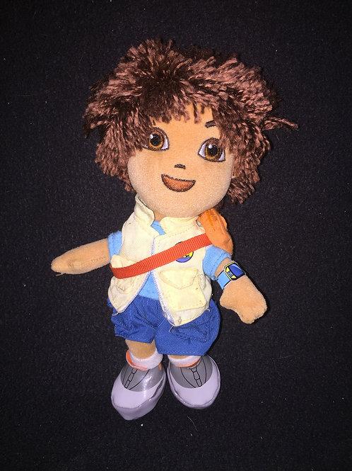TY Beanie Babies Mini Go Diego Plush
