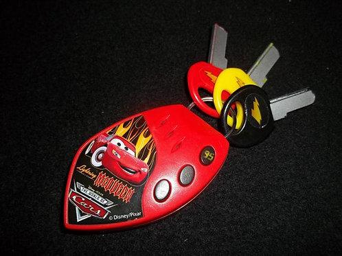 Disney Pixar Cars Lightning McQueen Play Keys