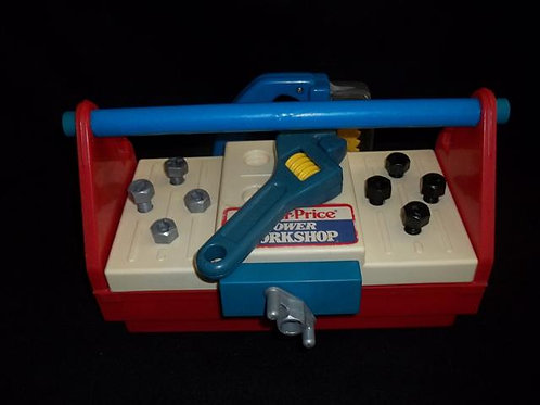 Fisher Price Power Workshop 1986 Lot