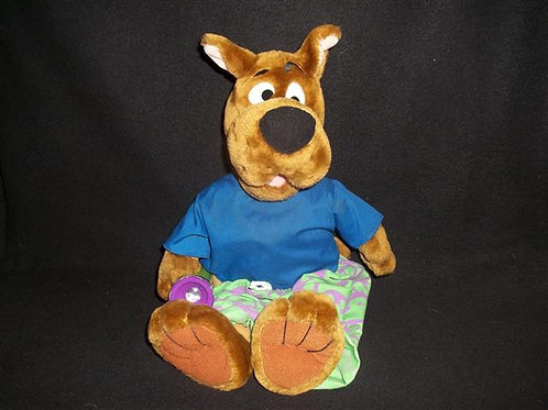Plush Talking Scooby with flashlight