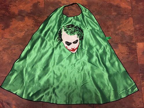 Six Flags DC Comics Joker-Dark NightReversible-Costume-Cape-Black/Green