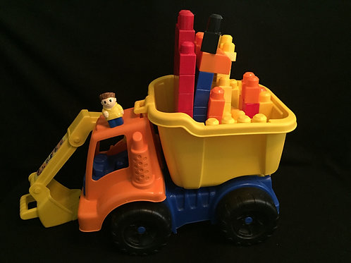 Mega Bloks Large Vehicle Dump Truck