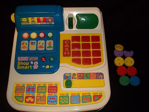 Vtech Little Smart Shop Smart Toy Cash Register