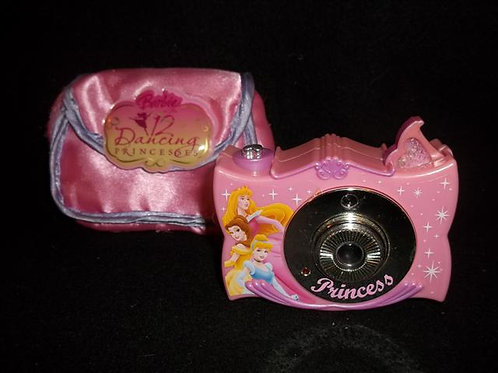 Barbie 12 Dancing Princesses play camera with Case