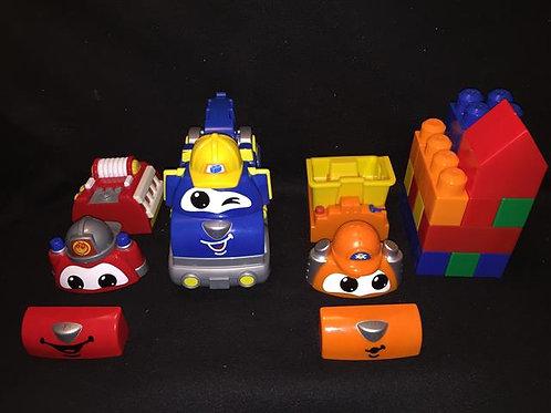 Mega Blok Mega Bloks Transforming Timmy