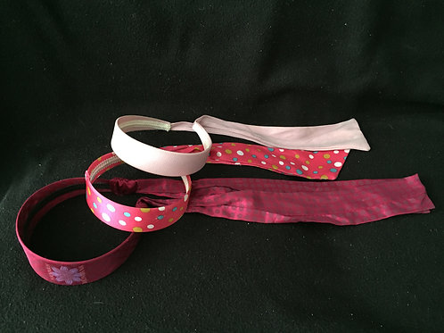 3 Kids Headbands with tail