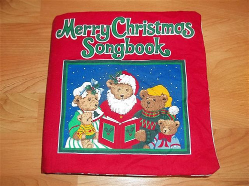 Merry Christmas soft cloth song book