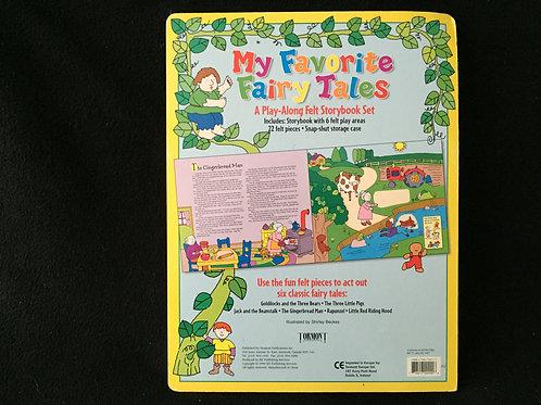 My Favorite Fairy Tale Felt Book Board book