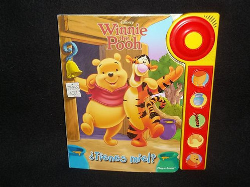 Winnie the Pooh (BOARD BOOK/SOUND BOOK)in Spanish
