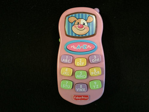 Laugh and Learn Learning Phone-Pink