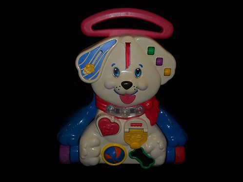 Fisher Price Puppy Walker 1 2 3 Sing Along Musical