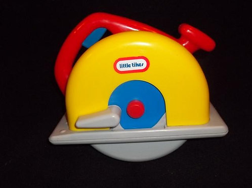 Little Tikes Vintage Workshop Circular Saw For To