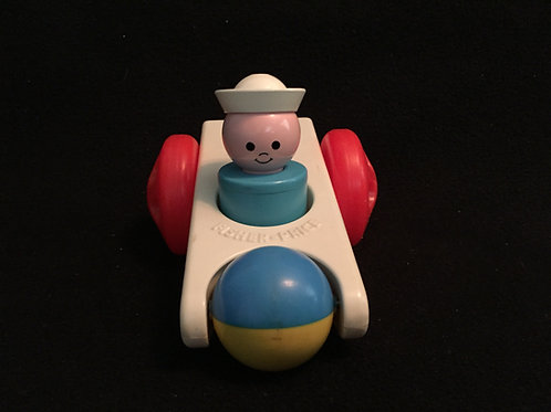 Fisher Price Click 'n Clatter Car *Vintage